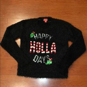 Sweaters - Happy Holla Days Holiday Sweater